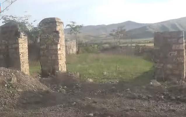 Bu da ermənilərin yağmalayıb dağıtdığı Qiyaslı və Sarıyatağımız... - video